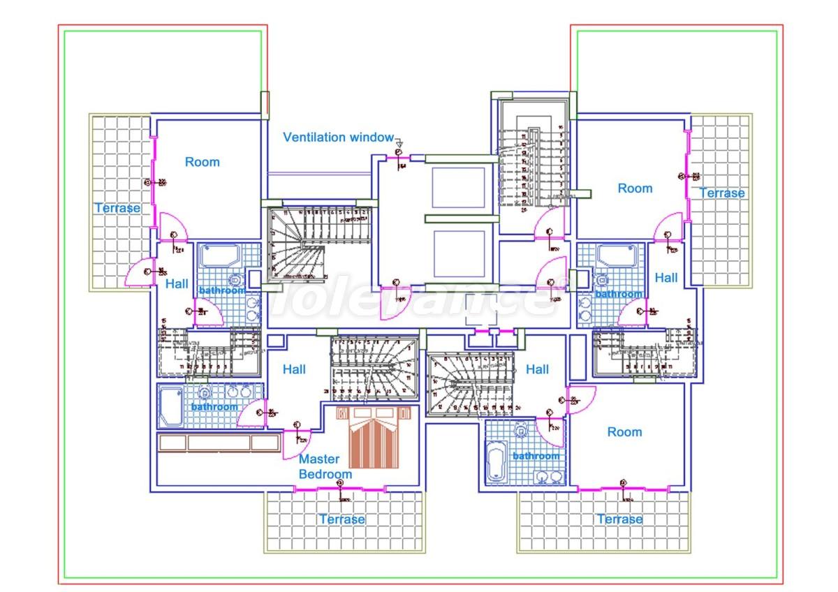 Комфортабельные апартаменты в Махмутларе, Алания рядом с морем - 14712 | Tolerance Homes