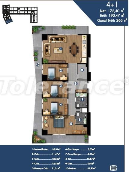 Современные квартиры в Измире, выгодные для инвестиций, в комплексе с отельной инфраструктурой - 15153 | Tolerance Homes