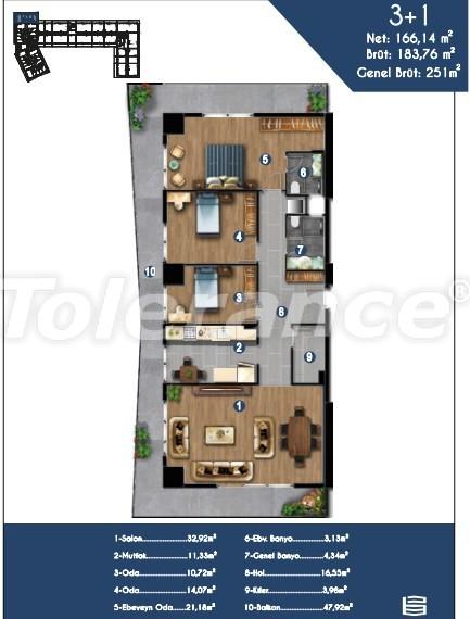 Современные квартиры в Измире, выгодные для инвестиций, в комплексе с отельной инфраструктурой - 15149 | Tolerance Homes