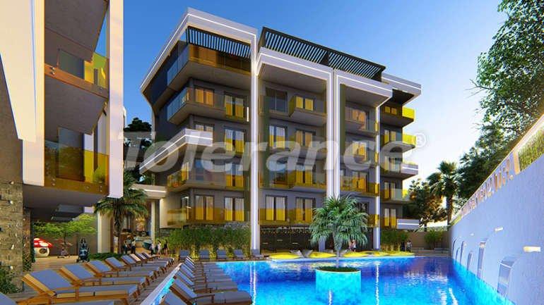 Апартаменты в центре Алании класса люкс - 15161 | Tolerance Homes