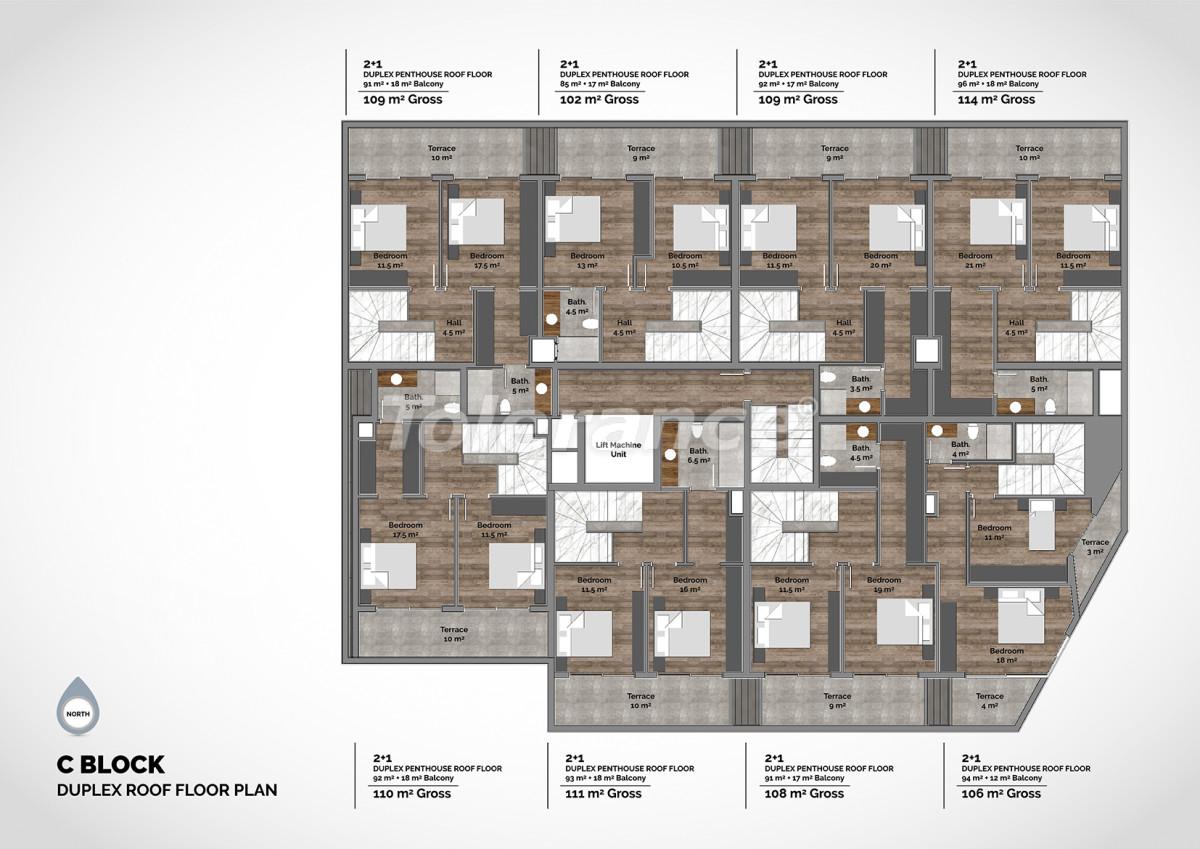 Апартаменты в центре Алании класса люкс - 15227 | Tolerance Homes