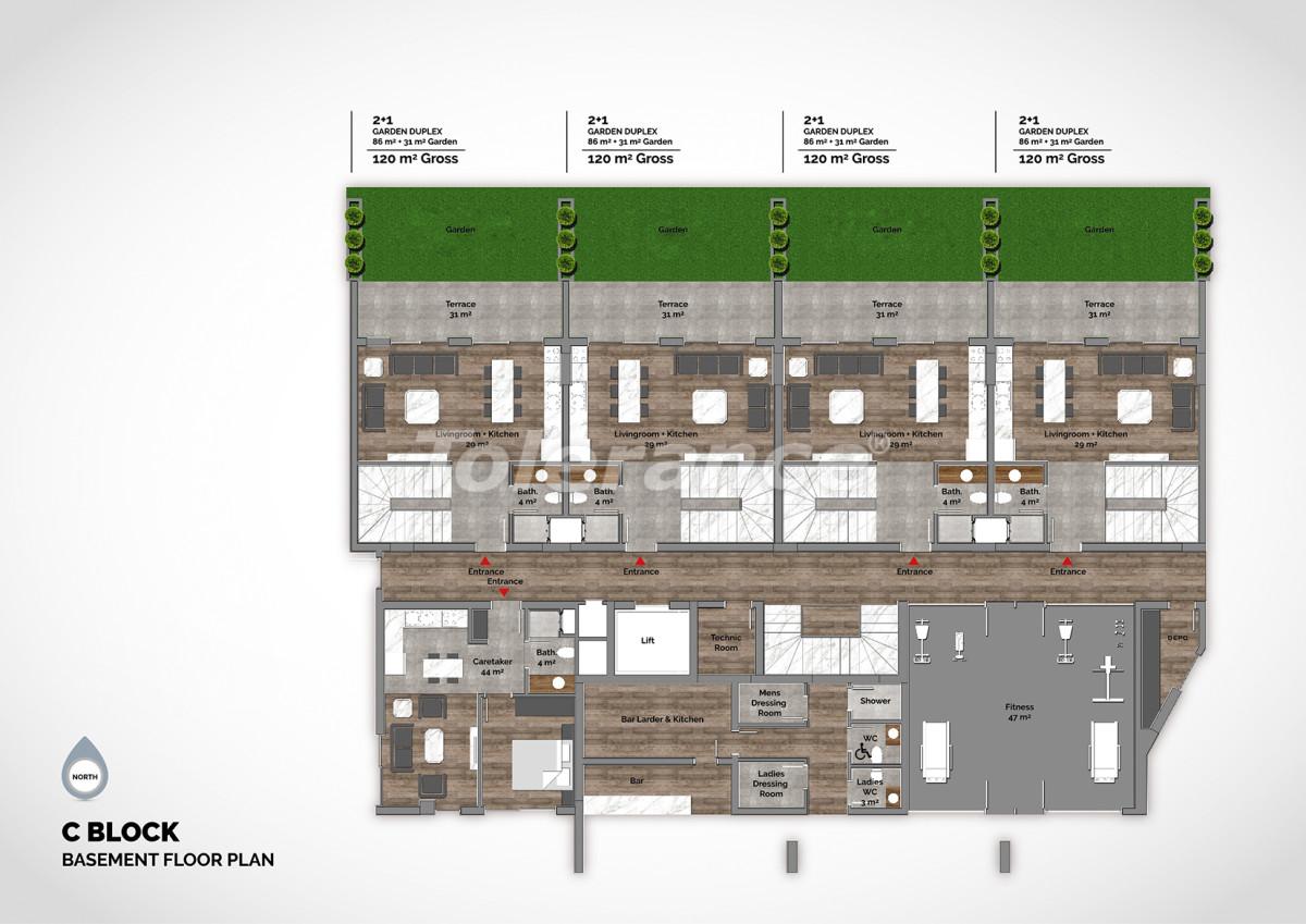 Апартаменты в центре Алании класса люкс - 15212 | Tolerance Homes
