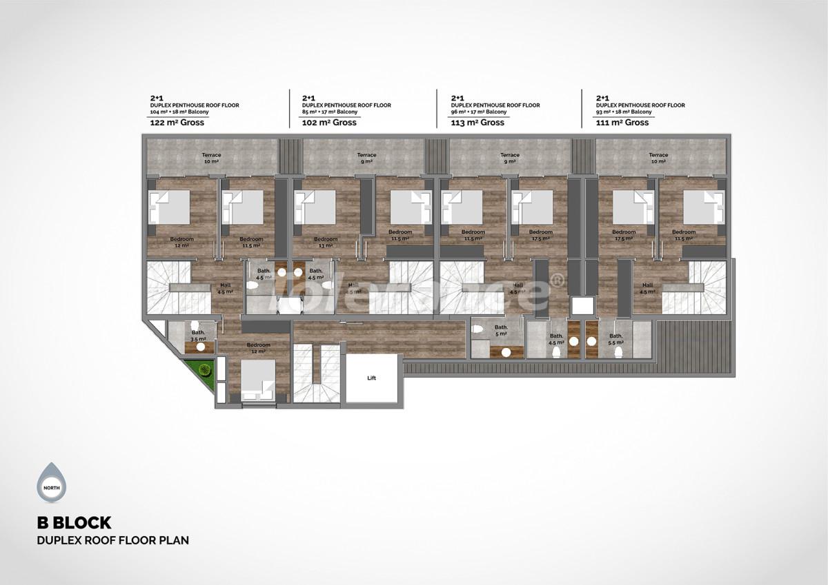 Апартаменты в центре Алании класса люкс - 15226 | Tolerance Homes
