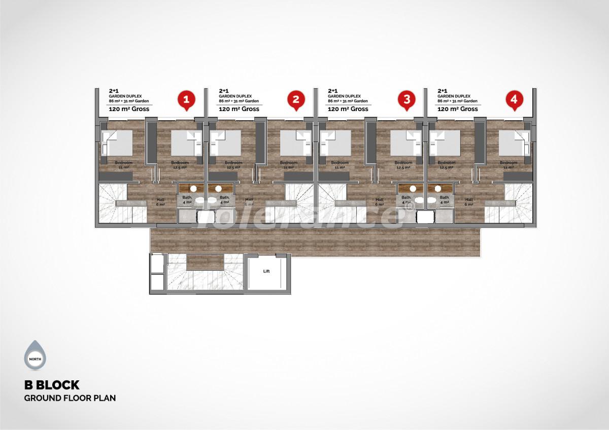 Апартаменты в центре Алании класса люкс - 15214 | Tolerance Homes