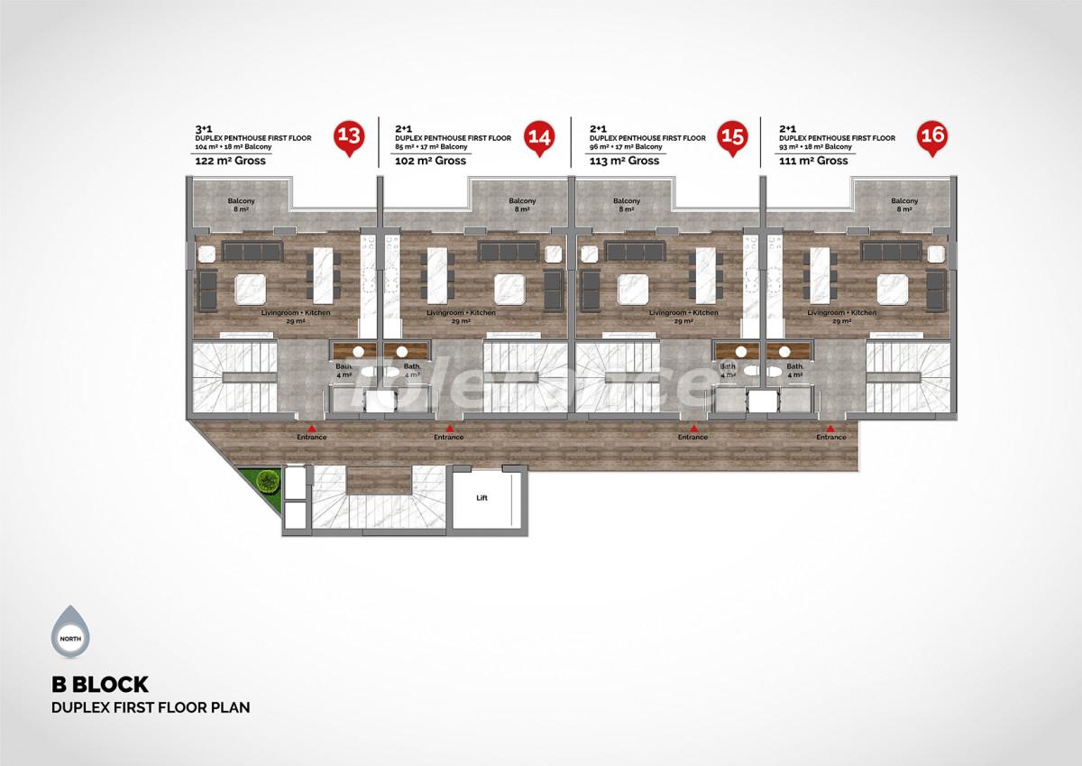 Апартаменты в центре Алании класса люкс - 15223 | Tolerance Homes