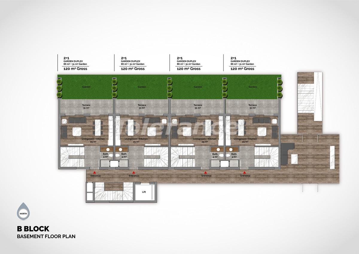 Апартаменты в центре Алании класса люкс - 15211 | Tolerance Homes