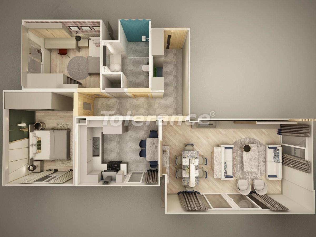 Квартиры в Дошемеалты, Анталия  рядом с университетом - 15320 | Tolerance Homes