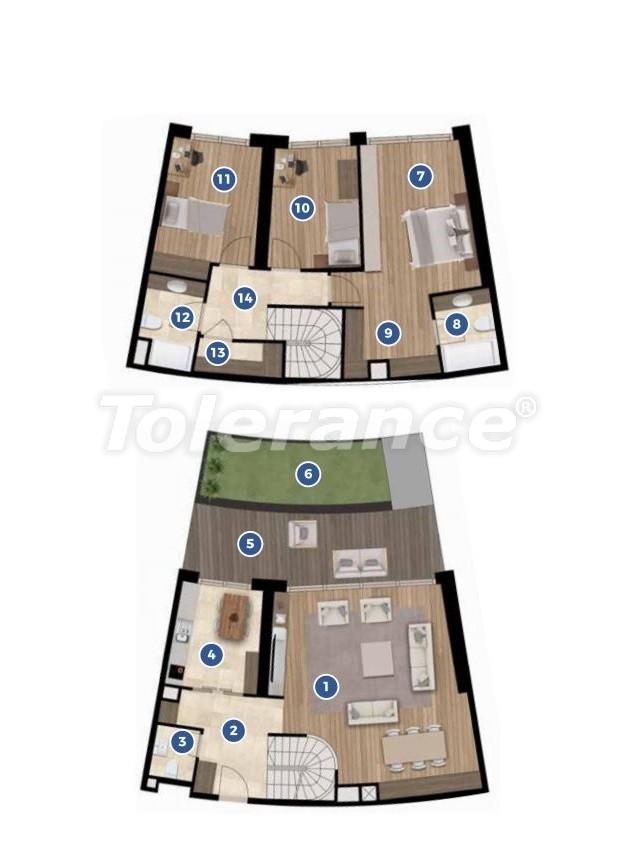 Элитные апартаменты в Измире в комплексе отельного типа с рассрочкой до 3-х лет - 19351 | Tolerance Homes