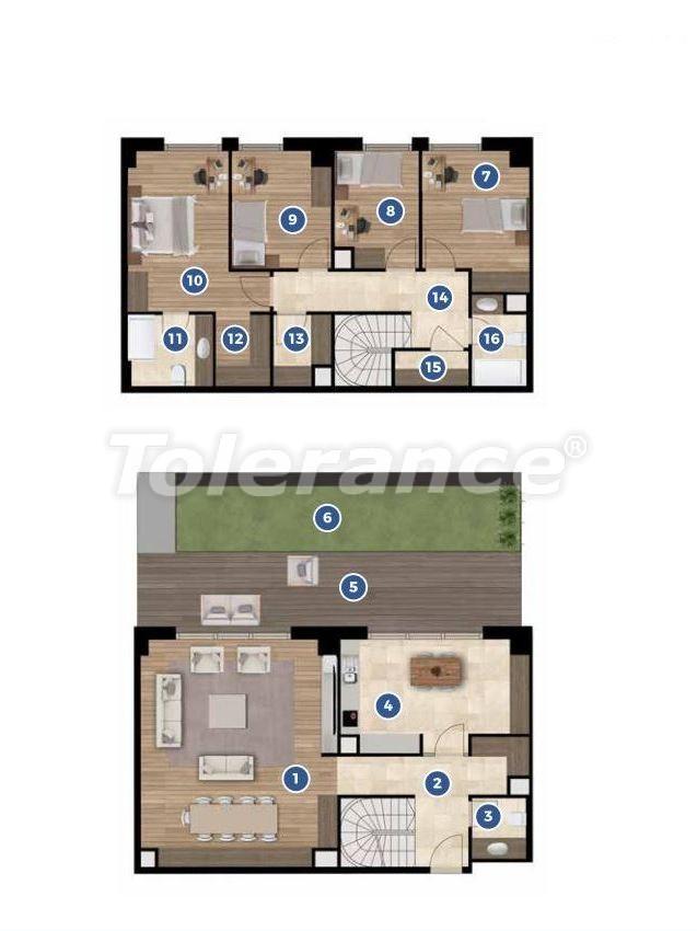 Элитные апартаменты в Измире в комплексе отельного типа с рассрочкой до 3-х лет - 19353 | Tolerance Homes