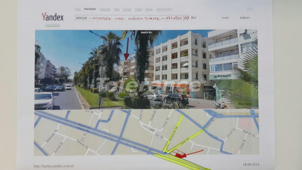 Четырехкомнатная квартира в центре Алании рядом с морем - 15443   Tolerance Homes