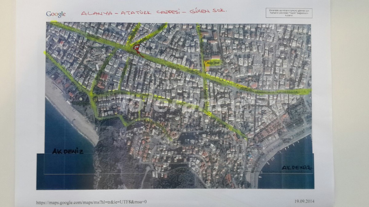 Четырехкомнатная квартира в центре Алании рядом с морем - 15444   Tolerance Homes