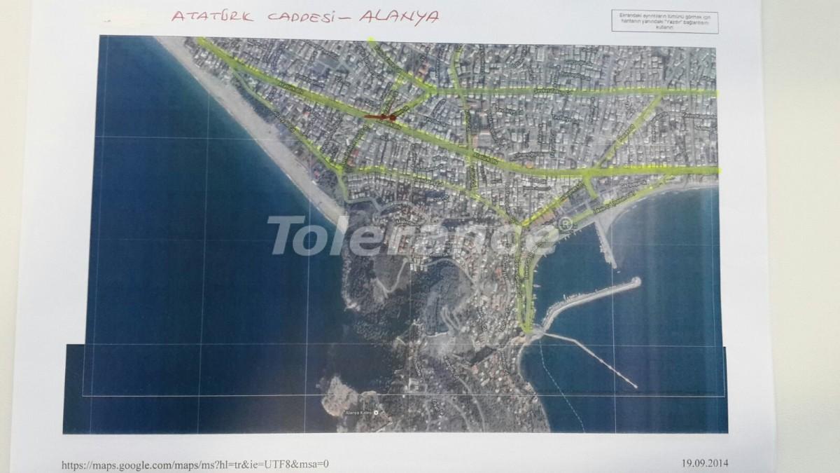Четырехкомнатная квартира в центре Алании рядом с морем - 15445   Tolerance Homes