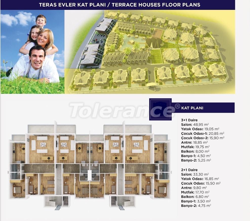 Роскошные апартаменты и виллыкласса люкс в Дошемеалты,  Анталия, эксклюзивный проект - 15485 | Tolerance Homes