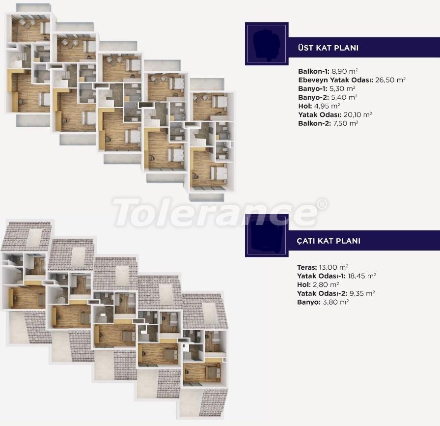 Роскошные апартаменты и виллыкласса люкс в Дошемеалты,  Анталия, эксклюзивный проект - 15484 | Tolerance Homes