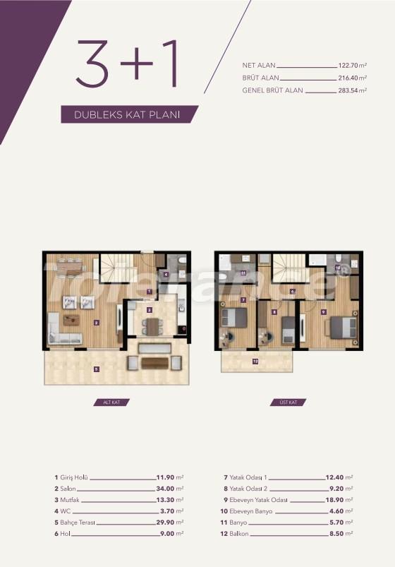 Элитные апартаменты в центре Измира от лучшей строительной компании - 15529   Tolerance Homes