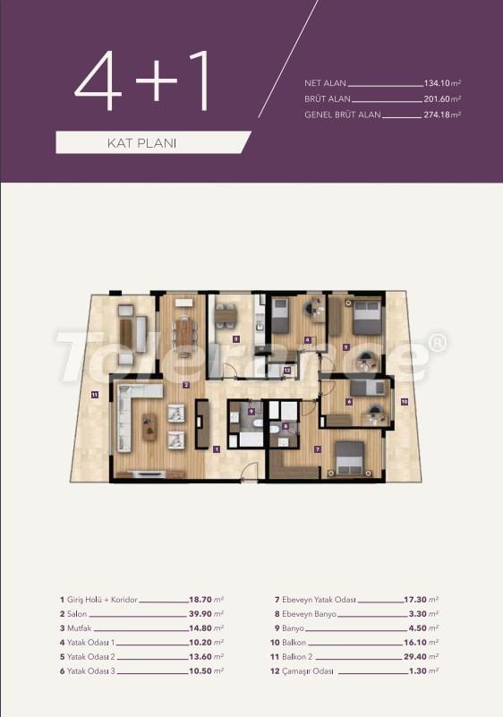 Элитные апартаменты в центре Измира от лучшей строительной компании - 15532   Tolerance Homes