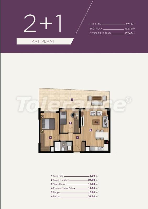 Элитные апартаменты в центре Измира от лучшей строительной компании - 15528   Tolerance Homes