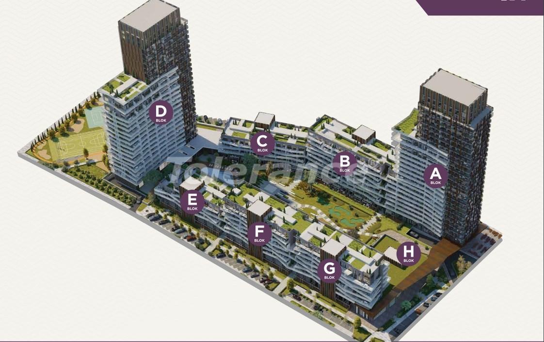 Элитные апартаменты в центре Измира от лучшей строительной компании - 15534   Tolerance Homes