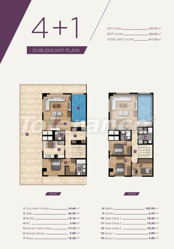Элитные апартаменты в центре Измира от лучшей строительной компании - 15533   Tolerance Homes