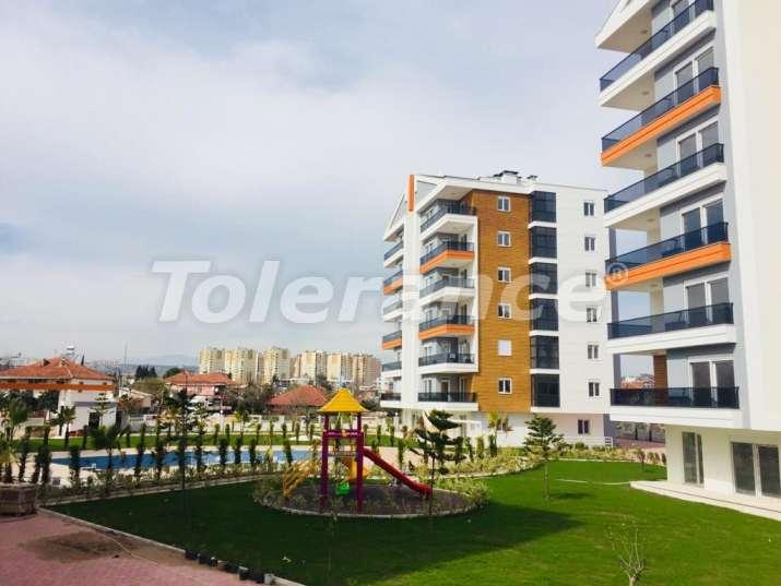 Просторные апартаменты с бассейном в Кепезе, Анталия от застройщика, недорого - 15562 | Tolerance Homes