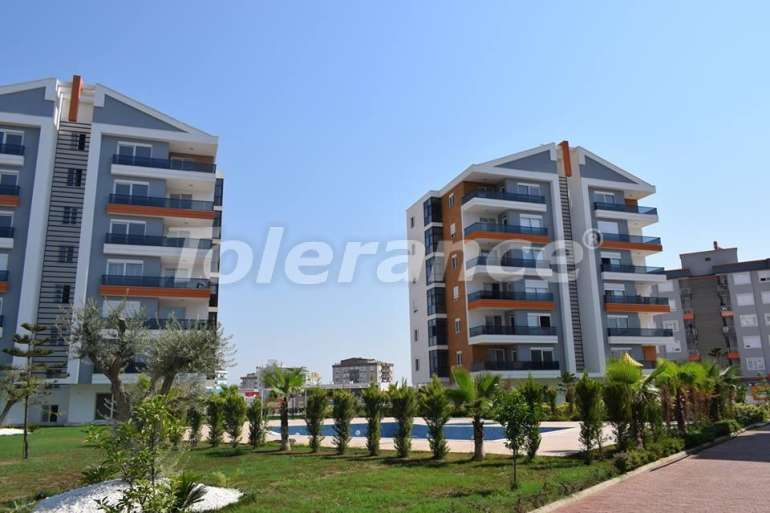 Просторные апартаменты с бассейном в Кепезе, Анталия от застройщика, недорого - 15561 | Tolerance Homes
