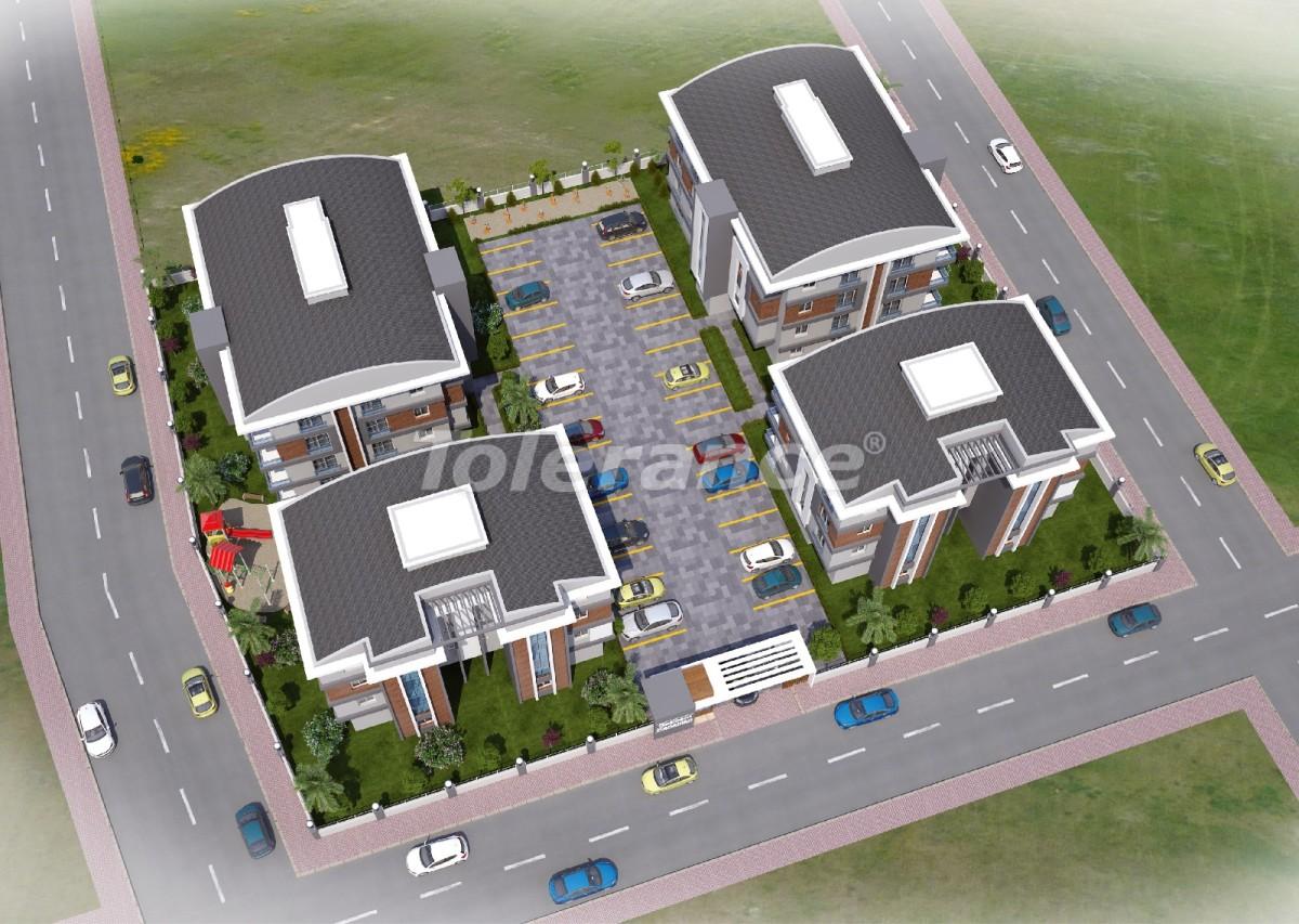Недорогие квартиры в Кепез, Анталия высокого класса - 15628 | Tolerance Homes