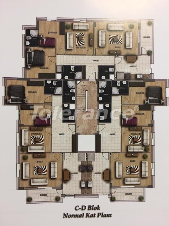 Недорогие квартиры в Кепез, Анталия высокого класса - 15632 | Tolerance Homes
