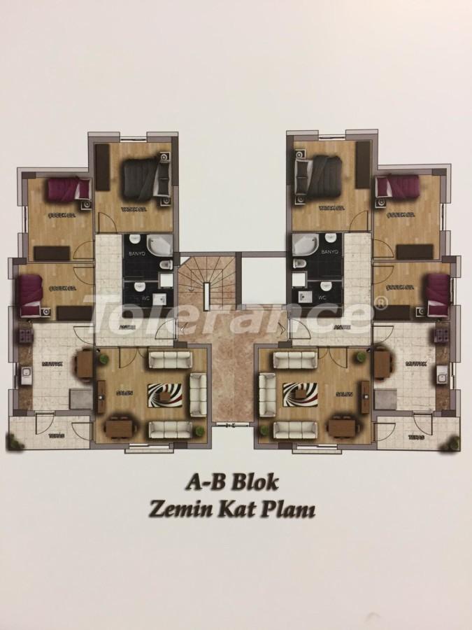 Недорогие квартиры в Кепез, Анталия высокого класса - 15629 | Tolerance Homes