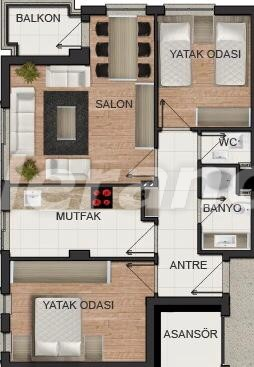 Квартиры в центре Анталии с газовым отоплением от застройщика - 15672   Tolerance Homes