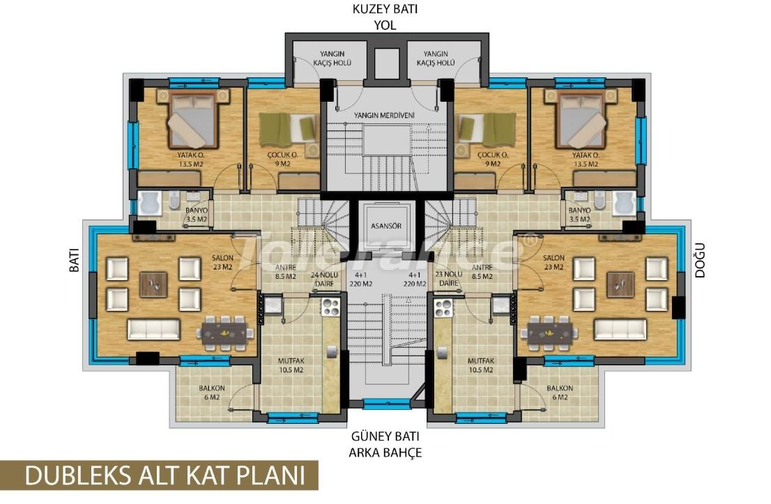 Апартаменты в центре Анталии от застройщика - 20821 | Tolerance Homes