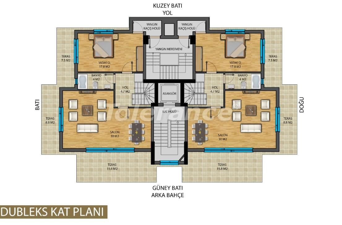 Апартаменты в центре Анталии от застройщика - 20822 | Tolerance Homes