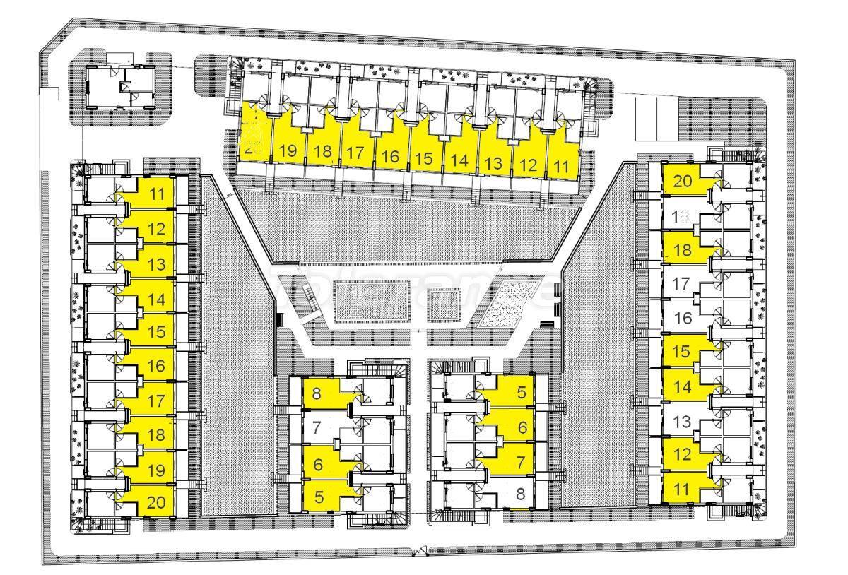 Апартаменты от застройщика в Кунду, Анталия,  с персональным спуском в бассейн - 15720   Tolerance Homes