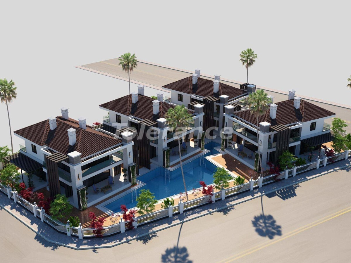 Апартаменты от застройщика в Кунду, Анталия,  с персональным спуском в бассейн - 15718   Tolerance Homes