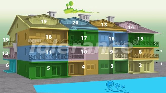 Квартиры с 2-мя и 3-мя спальнями в Дидиме, уникальный проект на берегу моря в сосновом лесу - 15747   Tolerance Homes