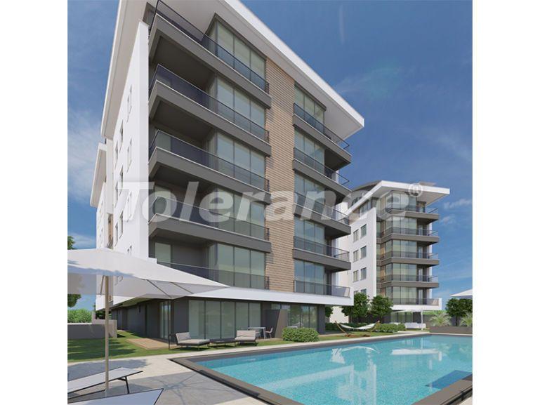 Современные апартаменты в Унджалы, Коньяалты с бассейном от надежного застройщика с рассрочкой - 16187 | Tolerance Homes