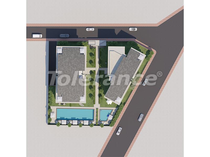 Современные апартаменты в Унджалы, Коньяалты с бассейном от надежного застройщика с рассрочкой - 16177 | Tolerance Homes