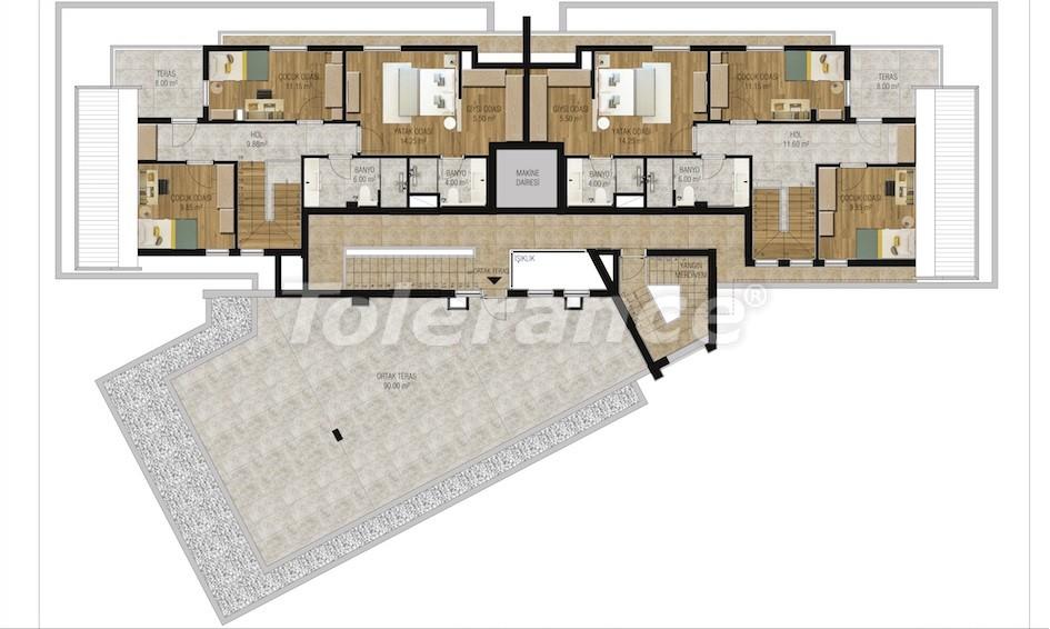 Современные апартаменты в Унджалы, Коньяалты с бассейном от надежного застройщика с рассрочкой - 16209 | Tolerance Homes