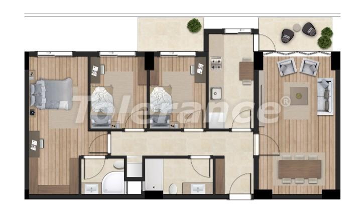 Элитные апартаменты в Борнова, Измир от надежного застройщика с гарантией аренды - 16304 | Tolerance Homes