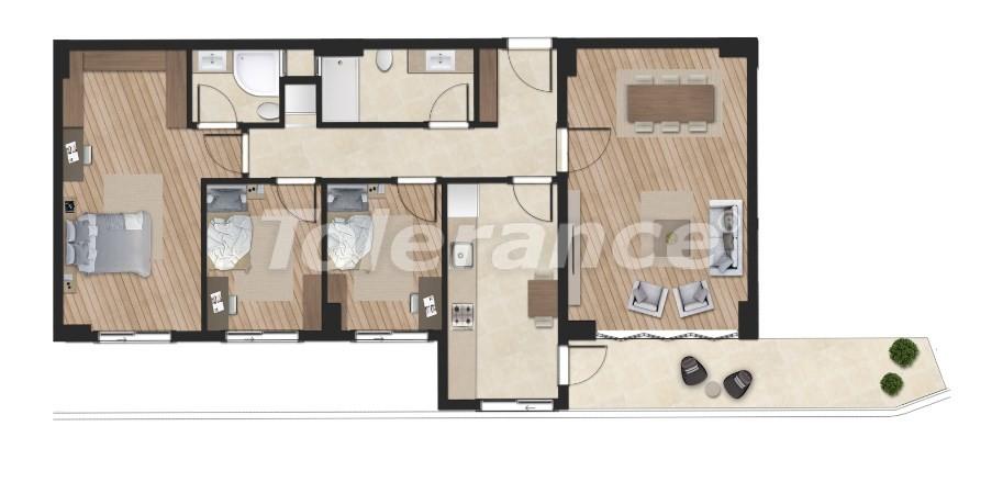 Элитные апартаменты в Борнова, Измир от надежного застройщика с гарантией аренды - 16302 | Tolerance Homes