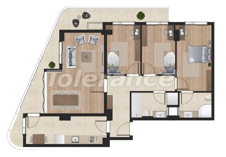 Элитные апартаменты в Борнова, Измир от надежного застройщика с гарантией аренды - 16303 | Tolerance Homes