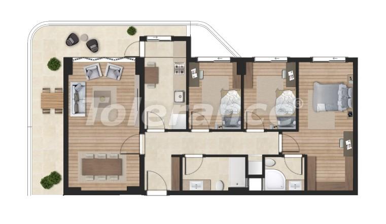 Элитные апартаменты в Борнова, Измир от надежного застройщика с гарантией аренды - 16301 | Tolerance Homes