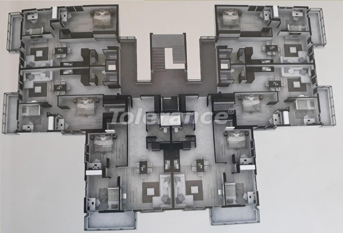 Квартиры в Сарысу, Коньяалты c бассейном от надежного застройщика  с рассрочкой до 12 месяцев - 16348 | Tolerance Homes