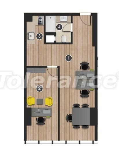 Современный комплекс  апартаментов и офисов в Борнова, Измир от надежного застройщика - 16553 | Tolerance Homes