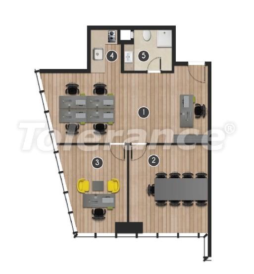 Современный комплекс  апартаментов и офисов в Борнова, Измир от надежного застройщика - 16552 | Tolerance Homes
