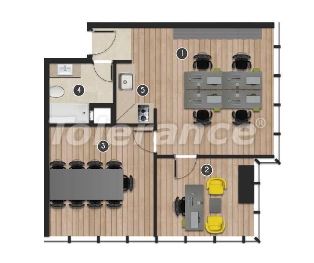 Современный комплекс  апартаментов и офисов в Борнова, Измир от надежного застройщика - 16554 | Tolerance Homes
