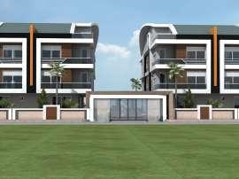 Современные апартаменты в Ларе, Анталия с бассейном - 16394 | Tolerance Homes