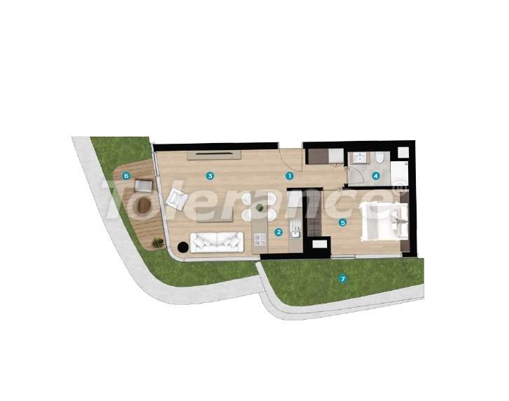 Роскошные апартаменты в Чешме, Измир на берегу моря от лучшего застройщика - 16442 | Tolerance Homes