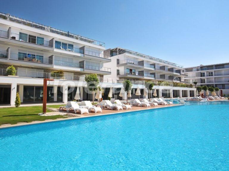 Трехкомнатная  меблированная квартира в Сиде в комплексе с бассейном - 16534   Tolerance Homes