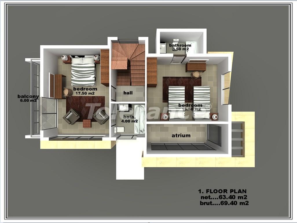 Частная вилла в Белеке от застройщика - 16592 | Tolerance Homes