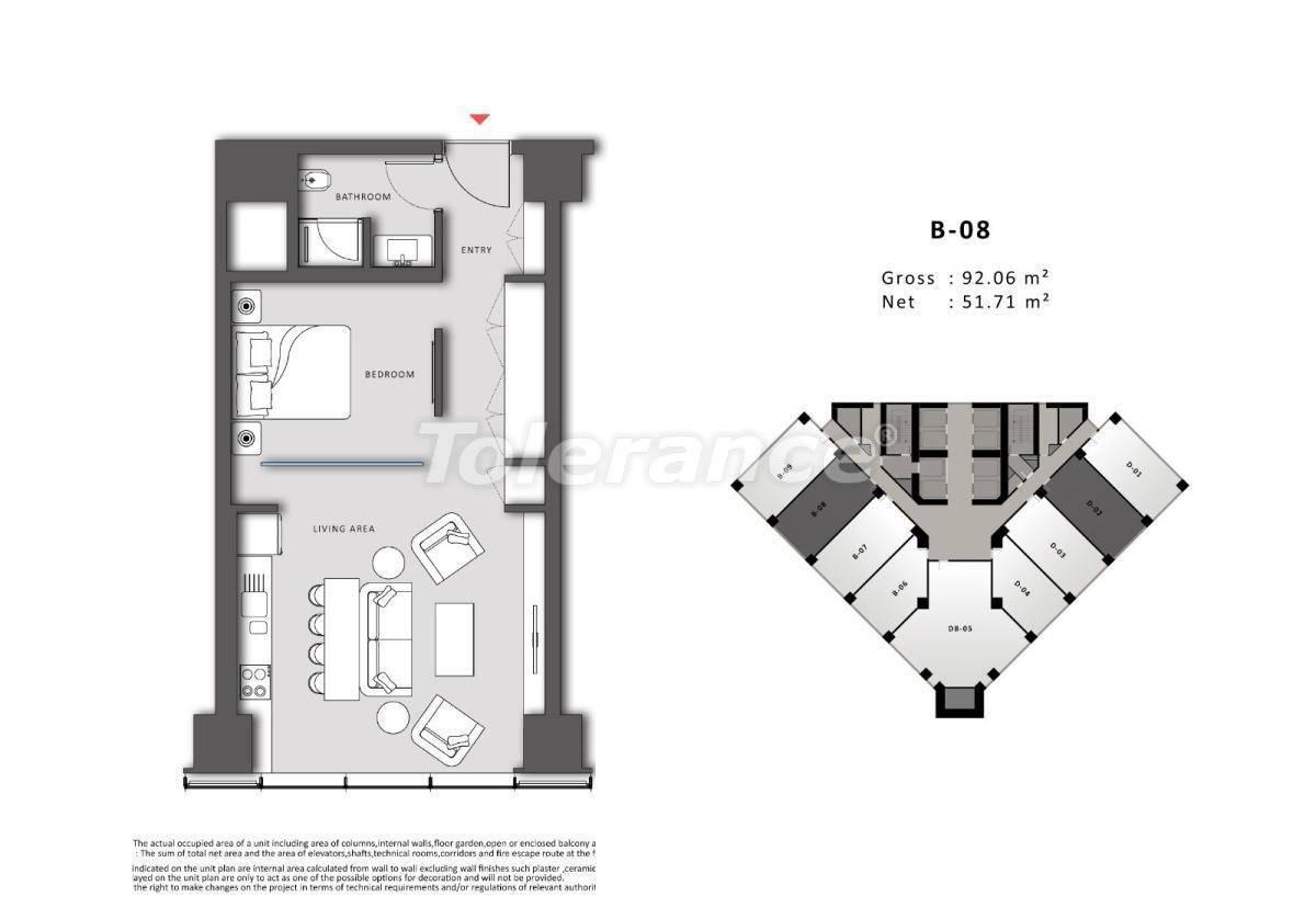 Просторные офисы в Шишли, Стамбул в современном комплексе с гарантией аренды на 3 года - 24708   Tolerance Homes